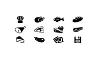 Food Icons 1